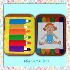 Puzzle muñeca / Quiet book