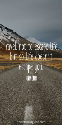 For those who LOVE to travel... 123 Inspirational Travel Quotes: The Ultimate List