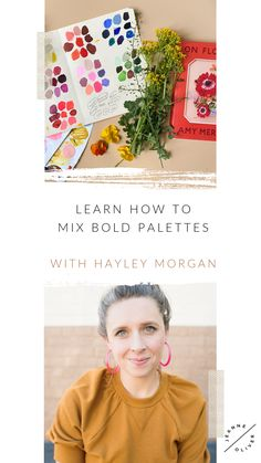 Free Art Lesson | Brave Color Mixing with Hayley Morgan Create Art Online, Online Art School, Mark Making, Never Too Late, Community Art, Mixed Media Art, Art Lessons, Color Mixing, Brave