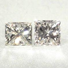 0.175 ctw I Color VVS1 Clarity 3.12x2.72x2.47 mm Princess Cut Natural Diamond