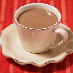 PUMPKIN & ABUELITA ATOLE: This recipe is quick and easy; you can put it together in 5 minutes. Our granulated version of Abuelita chocolate dissolves quickly and adds a wonderful cinnamon aroma and flavor to this soothing winter beverage.