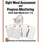 {Freebie}Dolch Sight Word Assessment and Progress Monitoring Materials