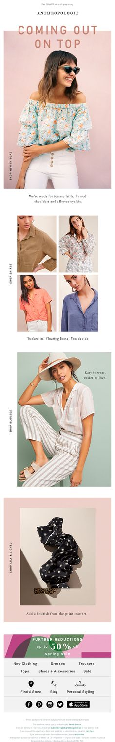 Email New, Anthropologie, Shopping, Anthropology