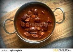 Chilli, za které vám tělo poděkuje (a voní po čokoládě) recept - TopRecepty. Chili, Beans, Food And Drink, Soup, Pudding, Vegetables, Desserts, Recipes, Cooking