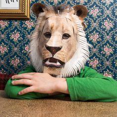 Maske Löwe – Löwenmaske – vorne