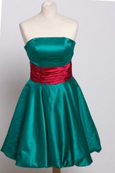 Green Short Prom Dresses Girls Size 10