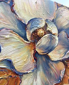 Add an elegant addition to any room with this Magnolia painting. It features soft and inviting colors that make this piece so dreamy and calming. Size: 10 x 10 x 3/4 deep Ready for immediate shipping. Painted on Gallery back wrapped canvas hand stretched canvas, edges painted in black -