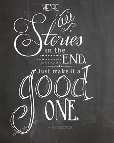 we are all stories in the end 11th doctor - Google Search