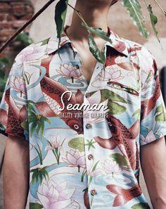 Vintage Aloha Shirt by Seaman Garments