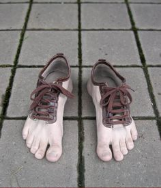 Shoes are made for walking