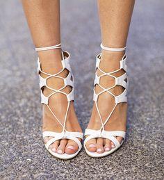 Ivory Lane: Dallas: Aquazurra Sandals I'm actually obsessed.