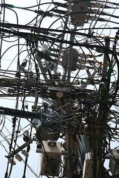 日本の風景と云えば電信柱