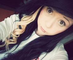 I wanna do the black and blonde hair so bad!
