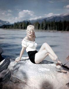 Marilyn Monroe. 1954