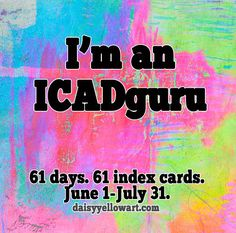 ICAD – Joining the Index Card A Day Challenge – iHanna's Blog See You Around, Diary Entry, Yellow Daisies, Title Card, You Can Do Anything, Index Cards, Love Reading, Challenges, Day