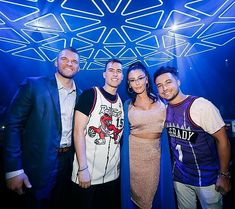 JWoww and Zack Clayton Carpinello Make Official Debut as Couple at Hakkasan Nightclub in Las Vegas Jenni Farley, Poses For Photos, Couple Photos, Reality Tv Stars, Tyga, Picture Tag, Night Club, Las Vegas, Couples