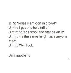 Jimin problems -- when I thought smth miraculous will happen XD