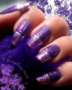 purple nails - Google Търсене