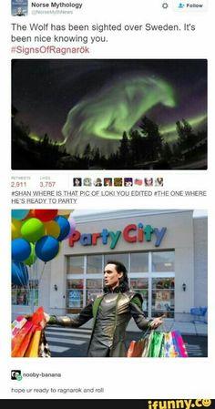 Loki ragnarok party