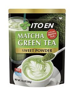 Ito En Matcha Green Tea, Sweet Powder, 17.5 Ounce -- Details can be found by clicking on the image.