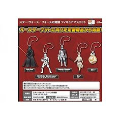 Tomy Takara - Figurine Star Wars Episode 7 - Set de 5 Porte-Clés Mascot 6cm - 4904790830150 *** You can find more details by visiting the image link.(It is Amazon affiliate link) #StarWarsToys Star Wars Figurines, Starwars Toys, Star Wars Episodes, Image Link, Amazon, Tomy, Key Pouch, Riding Habit