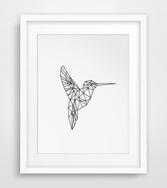 Hummingbird Print, Art Printables, Hummingbird Art, Printable Art, Hummingbird Wall Art, Spring Wall Art, Geometric Animals, Spring Prints by MelindaWoodDesigns on Etsy https://www.etsy.com/listing/221441439/hummingbird-print-art-printables