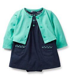 Carter´s Newborn-24 Months Cardigan & Bodysuit Dress Set | Dillard's Mobile