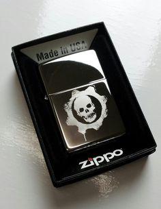 Zippo Lighter Gears of War COG rare Crimson by AThomasBracelets