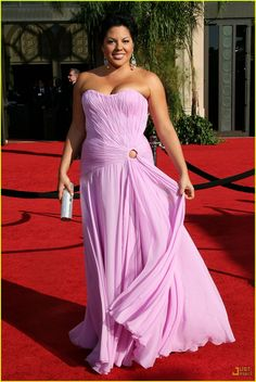 Callie Torries, arrives for the Primetime Emmy Awards Sunday, Sept. Calliope Torres, Love Guru, Greys Anatomy Cast, The Emmys, Strapless Dress Formal, Formal Dresses, Wtf Face, Red Carpet, Eye Candy