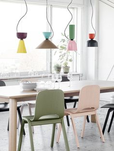 Luca Nichetto's innovative modular Alphabeta pendant lamp for Hem, via We Are Scout