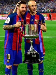 Copa del Rey 2017. The King y Don Andres Iniesta, dos irrepetibles.