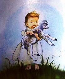 Eloise Wilkin. | I recognized this right away from my childhood books! I love the My Goodnight Book! And I had some other golden books with her illustrations in them. :)