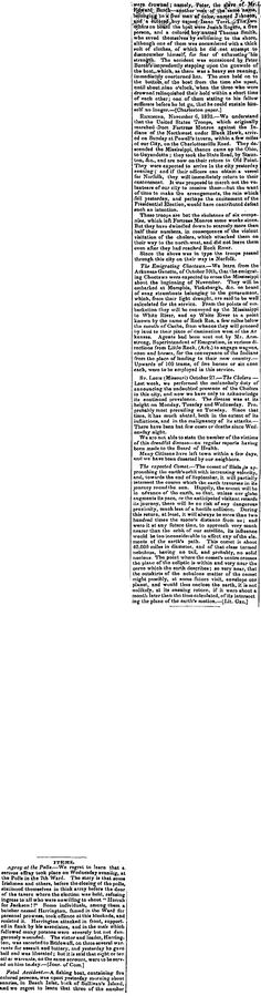 """1832.11.9. Harrington, a butcher, famed in the Ward, pummles some Irish Pollguards. (Harrington, butcher king, in Chichester Gang c. 1836, a noted boxer in late 30s and of high social status in the """"lower classes"""".)"""