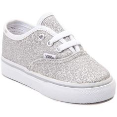 269bd2fb422274 Toddler Vans Authentic Glitter Skate Shoe (385 MYR) ❤ liked on Polyvore  featuring