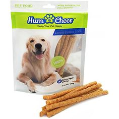 Hum & Cheer Premium Dog Treats, Sweet Potato Stick for Dog Training Chews Snacks, 3.53 oz/Small --- You can read more at the image link. (This is an affiliate link and I receive a commission for the sales)