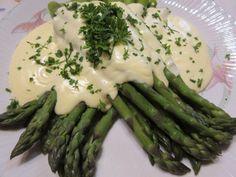 Spárga tejszínmártással - Balkonada zöldségétel receptek
