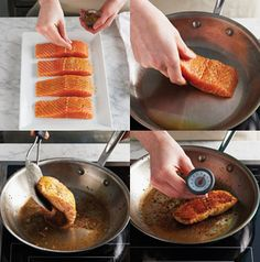You've seen that lovely crust that chefs get on pan-fried salmon, right? It's easy to recreate at home. Seriously.