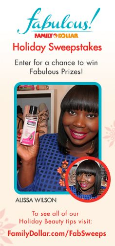 Family Dollar Fabulous Holiday Sweepstakes