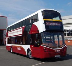 New Lothian bus. Wright bus bodywork on Volvo running gear