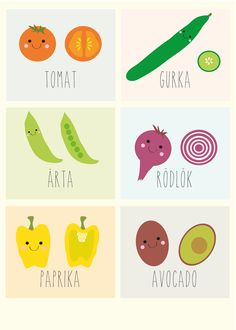Poster - Vegetables via Mini Mocks. Click on the image to see more!