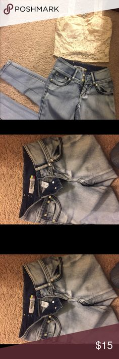 """set pants and shirt and necklace pants size 1 and shirt size """"s"""" Jeans Skinny"""