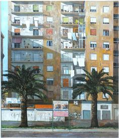 Get top tips from Ian Hargreaves, last year's winner of our annual Artists of the Year competition. ABOVE: Winning entry from Ian Hargreaves, High Rise – Naples, oil on canvas, 120x100cm. Enter your artwork by 3 November 2016 for the chance to win gallery representation and £10,000 worth of prizes. Find out more > http://www.artistsandillustrators.co.uk/featured-artist/oil-painting/1655/spotlight-on...-last-years-winner-of-artists-of-the-year