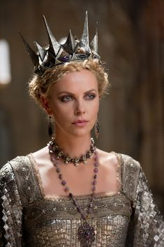 Cathy Waterman designs the jewellery for Snow-white and the Huntsman the movie - worn by Charlize Theron