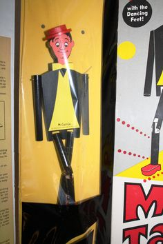 60s Wood Jig Doll, Limberjack, Les Gigueux, Dancing Doll1968,Burbank, CA