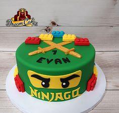 54 Best Ninjago cakes images in 2019 | Lego ninjago cake, Ninjago ...