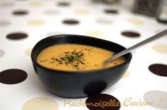 Soupe de lentilles corail et carottes - Recette de Cuisine ~ Mademoiselle Cuisine : recettes, astuces, actu cuisine