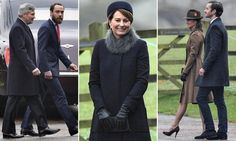 Carole, was joined by her family for the church service at the Sandringham estate in Norfolk after spending the Christmas break in Berkshire with Kate and William. Carole Middleton, Middleton Family, Pippa And James, Ali Macgraw, Duke Of Cambridge, Duke And Duchess, British Royals, Norfolk, Mail Online