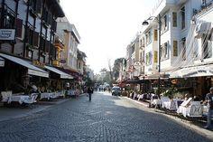 터키 이스탄불 성소피아 사원 근처. 이런 모습이 정말 보고 싶었어.