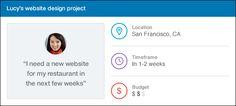 Linkedin ProFinder per trovare professionisti in base a budget, skill,..