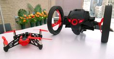 Parrot Mini Drones can fly, roll and even jump. They're also a lot of fun.
